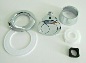 UNI DUAL FLUSH BUTTON FOR 20, 40, 50, OR 60mm CISTERN LID HOLE