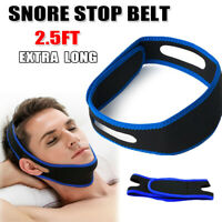 Adjust Snore Stop Belt Anti Bruxism Cpap Chin Strap Sleep Apnea Jaw Solution TMJ