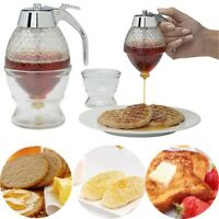 Honey Syrup Dispenser Pot Jar 1Cup Hive with Trigger Stand  Acrylic US Stock