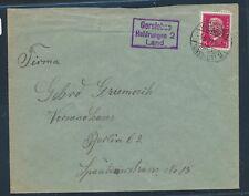 24530) DDR Landpost Ra3 Gorsleben Heldrungen 2 Land, Brief 1929