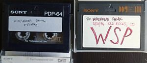 Tapes:  WSP (DAT)
