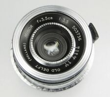 Old Delft 3.5cm f3.5 Minor Contax RF mount  #503736