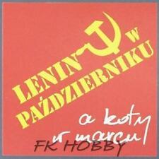 Poland Brewery Dionizos Lenin Kot Beer Label Microbrewery Cat Katze dis3
