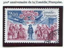 STAMP / TIMBRE FRANCE OBLITERE N° 2106 COMEDIE FRANCAISE Photo non contractuelle