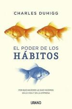 NEW El poder de los habitos (Spanish Edition) by Charles Duhigg