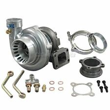 """CXRacing GT35 T3 Turbo Charger Anti-Surge 500+ HP w/ All Accessories 3"""" V-Band"""