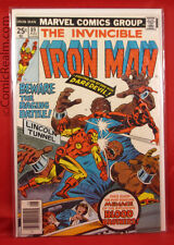 The Invincible Iron Man #89 (1976) Marvel Daredevil Bagged & Boarded VF+!