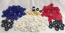 Vintage 1960's Constri Plastic Block Construction Set Switzerland 138 pieces