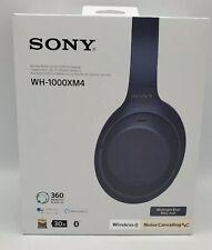 Sony WH-1000XM4 Wireless Headphones - Midnight Blue✅‼️🌟OPEN BOX🌟‼️
