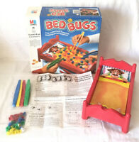 Bed Bugs Board Game 1985 MB Milton Bradley 100% Complete & Fully Working Vintage