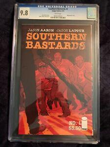SOUTHERN BASTARDS #1 CGC 9.8 1st APPEARANCE TV MOVIE NM/MT Jason Aaron Latour
