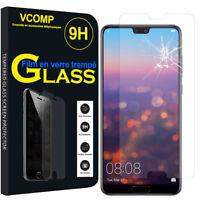 """Lot/ Pack Film Verre Trempe Protecteur Haute Qualite pour Huawei P20 Pro 6.1"""""""
