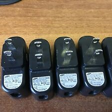 Lot of 6 Samsung Original AD5055 AC Adapter 5.0V 0.550ma,cube only, no cable