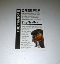 The Traitor Promo Card for use in any Fluxx game