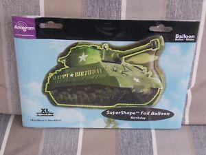 19in x 26in Tank - SuperShape Foil Mylar Party Balloon