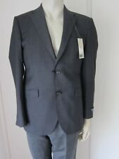 "M&S Jacket Alfred Brown Pure Wool Size 36"" SHORT Savile Row Inspired rrp £180"
