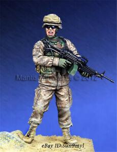 1/35 US Navy Soldier Resin Kits Unpainted Figure Model GK Unassembled