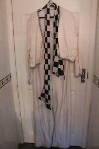 Ex Hire Mens Freddie Mercury Musician Outfit Fancy Dress Costume