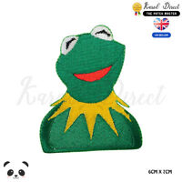 Kermit Forg Disney Embroidered Iron On Sew On Patch Badge For Clothes etc