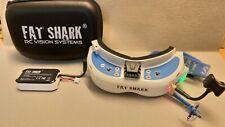 Fatshark Dominator V3 FPV Brille, Diversity Modul, 2 Antennen