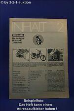 Das Motorrad 2/73 Laverda Aermacchi Briel BMW Honda