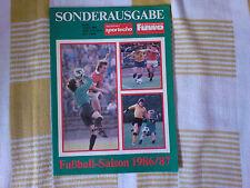 Sonderausgabe - Deutsches Sportecho/FUWO August 1986 DDR Fussball