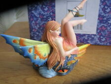 FAIRY SITE FAERIE DRAGON FAE BLUE  BY SELENA FENECH NEW IN BOX