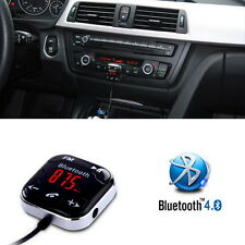 Magnet Car Kit Wireless Bluetooth SD FM Transmitter AUX LCD Handsfree MP3 USB