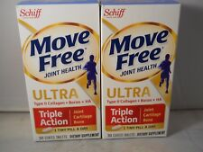 Schiff Move Free Joint Health Ultra Triple Action 30 Tablets each (2pK) exp 2020