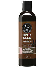 EARTHLY BODY HEMP SEED MASSAGE & BODY ALL NATURAL OIL - Skinny Dip