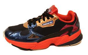 Adidas Originals Women's FALCON Shoes Collegiate Navy / Red CG6632 Size 8
