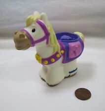 New Fisher Price Little People HORSE MAXIMUS from PRINCESS RAPUNZEL Disney Rare