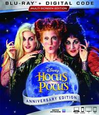 Hocus Pocus - 25th Anniversary Edition - New Sealed Blu-ray + Digital Code