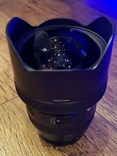 Sigma Art 12-24mm F4 DG HSM Canon EF (With Box, Incredible Used Condition)