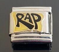 RAP Italian Charm Bracelet Charms Link Classic
