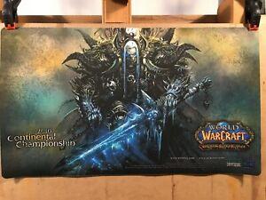 World of Warcraft Krog the Deathfist Playmat - WoW TCG - Orc Death Knight