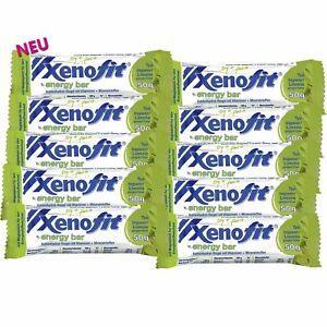 Xenofit energy bar Ingwer/Limone Energie-Riegel 10x50g