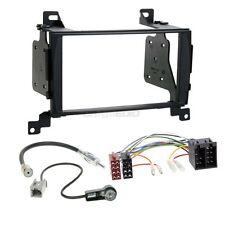 Hyundai Santa Fe CM 10-12 2-DIN Autoradio Einbauset Adapter Kabel Radioblende