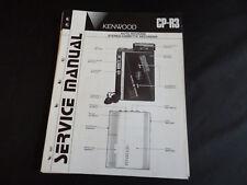 Original Service Manual Kenwood CP-R3