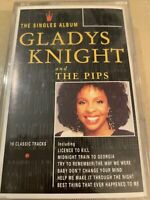 Gladys Knight & The Pips Singles Album inc Midnight Train + Cassette Tape TESTED