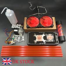 DIY PC Water Cooling Kit 240mm Radiator Pump Reservoir CPU Block Rigid Tubes UK