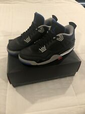 Air Jordan Retro 4 Alternate Motorsport - Size 13 - Black Blue - Mens Basketball