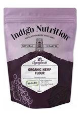 Indigo Herbes Organique Graines De Chanvre farine 500 g Haute Protéine