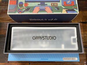 Graystudio Think6.5v2 Stormtrooper White 65% Mechanical Keyboard Kit