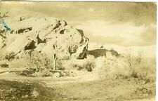 "Phoenix, AZ Lone Rider at "" Hole in the Rock"" 1948 RPPC"
