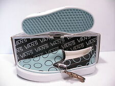 VANS CLASSIC SLIP-ON LX DOT RINGS MEN SHOES NILE BLUE  VN-OEZAARL SIZE 10.5 NEW