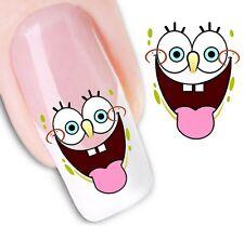 Nail Art Sticker Water Decals Transfer Stickers Spongebob Squarepants (DX1248)