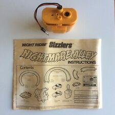 Hot Wheels Redline Night Ridin Sizzlers Nightmare Alley Set Instructions Charger