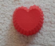2x Silikon Backform Muffinform Backform Herz Gipsform Eisform Cupcakes