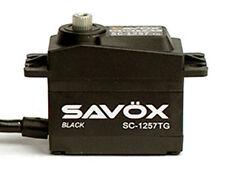 Savox SC1257TG-BE Black Edition Standard Digital Super Speed Titanium Servo